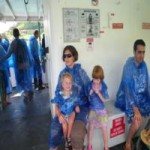 It was sooo hot the day we saw Niagra Falls, the plastic ponchos were a bit much!