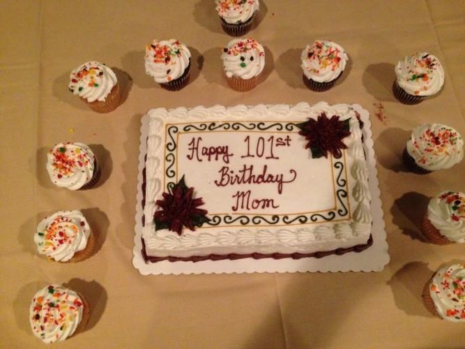 101 Birthday Cake