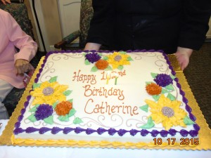 102nd birthday half sheet cake